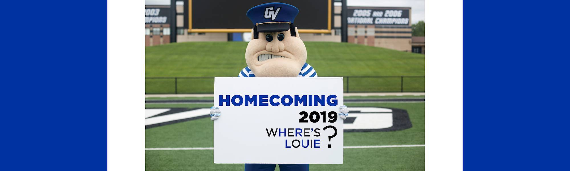 GVSU Homecoming: Where's Louie?